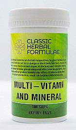 MULTI-VITAMIN AND MINERAL (CAPSULES)
