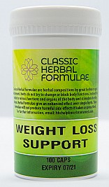 WEIGHT LOSS SUPPORT (CAPSULES) TOGETHER WITH CHICKWEED TEA