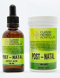 POST NATAL FORMULA KIT (CAPSULES AND FLUID EXTRACT [DROPS])