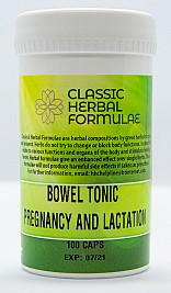 BOWEL TONIC PREGNANCY AND LACTATION<br>(CAPSULES)