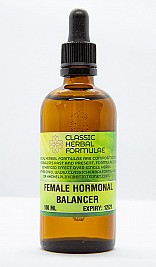 FEMALE HORMONAL BALANCER ONE MONTH COURSE FLUID EXTRACT [DROPS] ONLY)