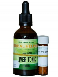 MORNING SICKNESS KIT: COMPRISES LIVER TONIC AND HOMEOPATHIC REMEDY SYMPHORICARPUS 200